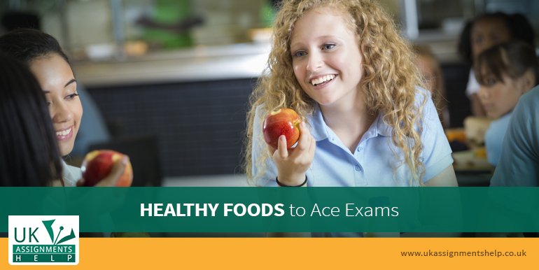 healthy foods to ace exams